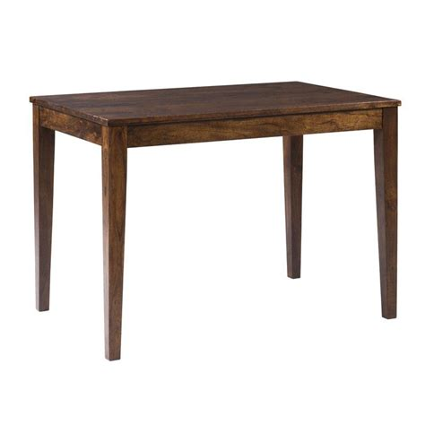 Gambino Rustic Counter Height Solid Wood Dining Table By Bloomsbury Market