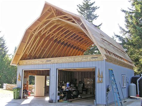 Gambrel Barn Shop Plans