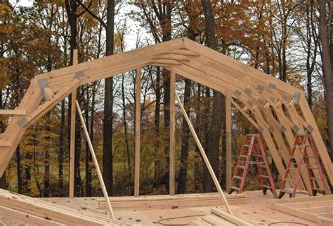 Gambrel Roof Plans Trusses Home
