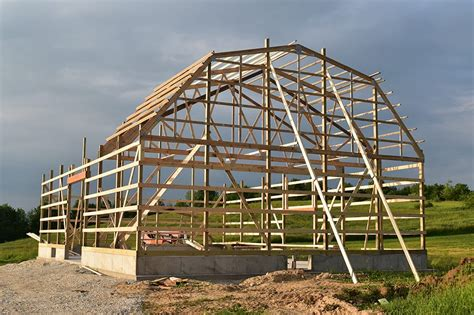 Gambrel Roof Plans Trusses Prices