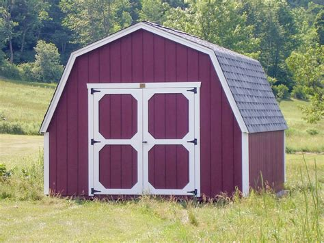 Gambrel Storage Shed Designs