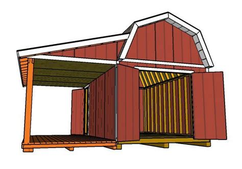 Gambrel-Roof-Shed-Plans-10x16