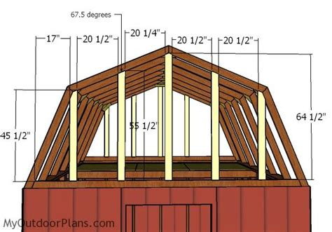 Gambrel-Roof-Shed-Plans-12x12