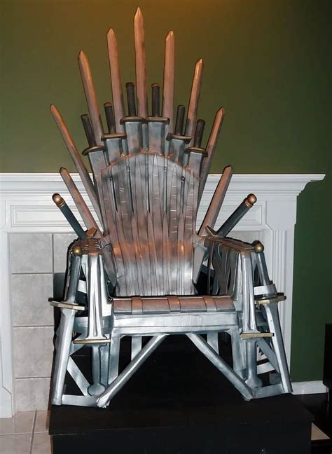 Game Of Thrones Diy Throne