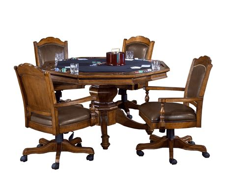 Game Table Wooden Chairs