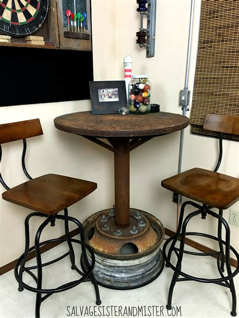 Game-Table-Diy-Bar-Stool