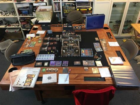 Gaming Table Diy Boardgamegeek Gloomhaven
