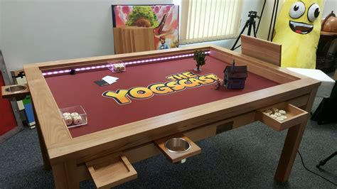 Gaming Table Plans With Tv
