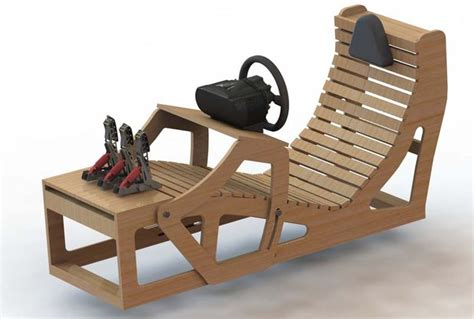 Gaming-Race-Seat-Diy-Rocker-Wood