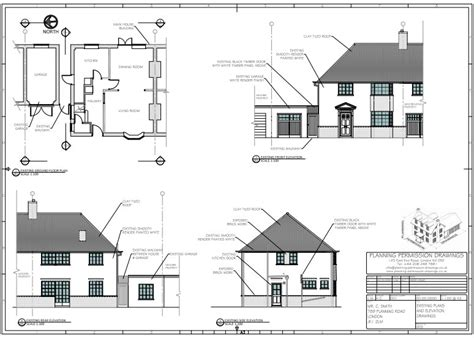 Garage Conversion Plans Drawings