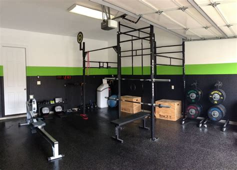 Garage Crossfit Gym Plans For Weight