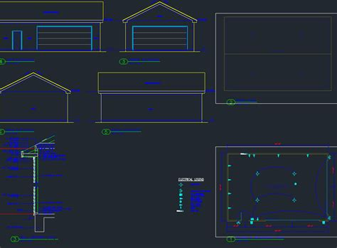 Garage Door Cad Plan