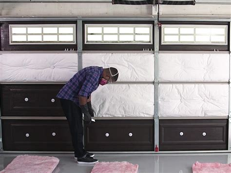 Garage Door Diy Insulation