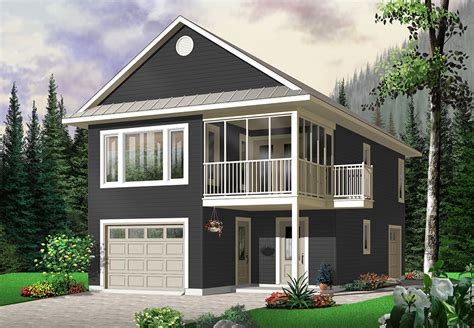 Garage Houses Plans
