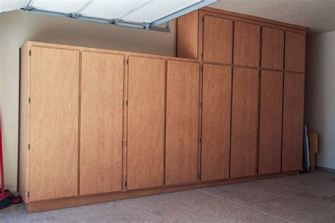 Garage Lockers Diy Plans