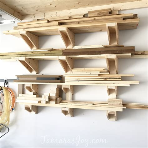 Garage Lumber Rack Diy
