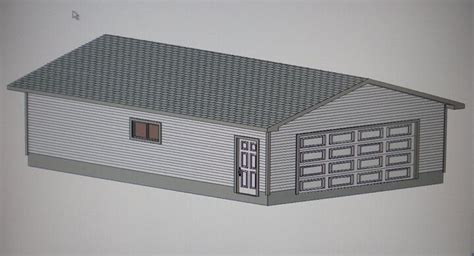 Garage Plans 24 X 36 With Material List