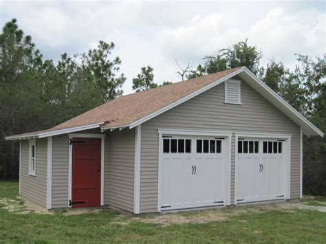 Garage Plans With Attached Shed