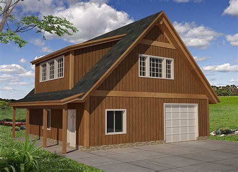 Garage Plans With Attic Storage
