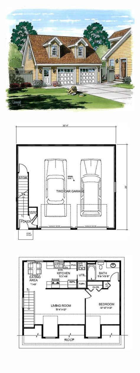 Garage Plans With Ground Level Apartments