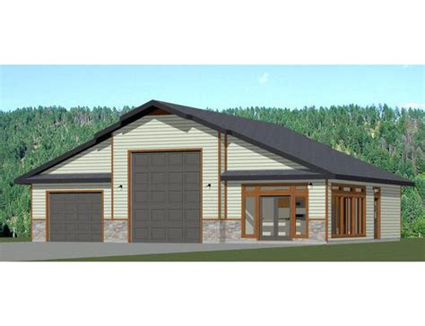 Garage Plans With Living Quarters One Story