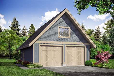Garage Plans With Upper Level