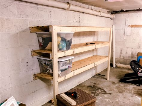 Garage Shelving Diy Wood
