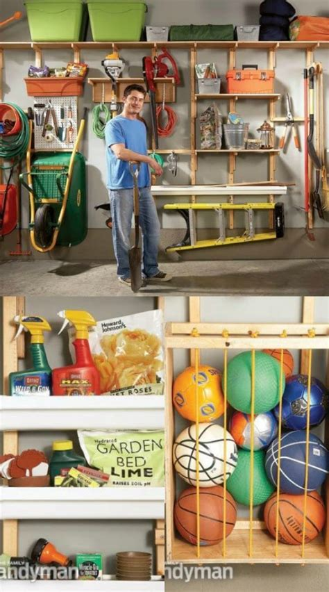 Garage Storage Projects Diy Crafts
