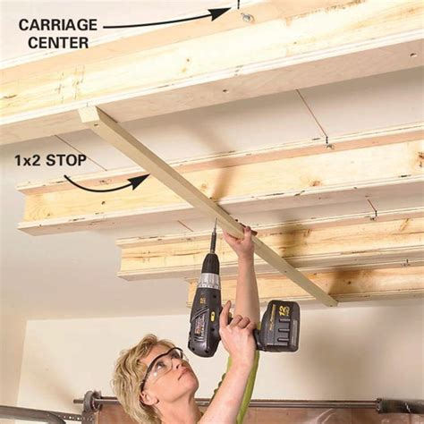Garage Tote Storage Ceiling Diy Living