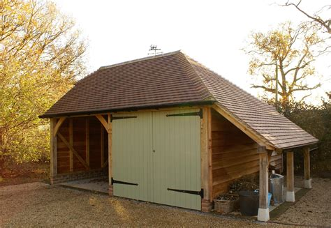Garage With Hip Roof Plans