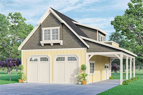 Garage With Loft Building Plans