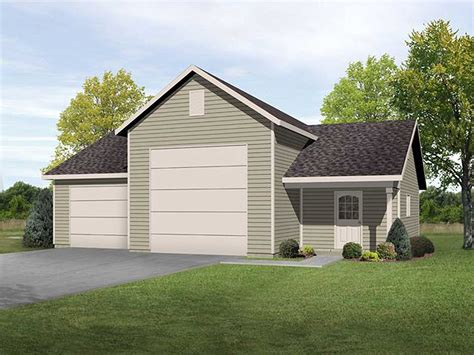 Garage With Shop Floor Plans