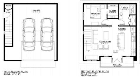 Garage With Suite Above Plans