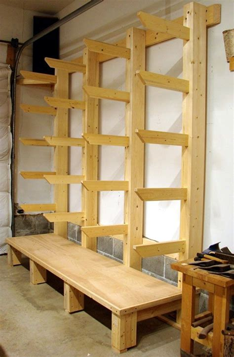 Garage Woodworking Shop Wood Rack