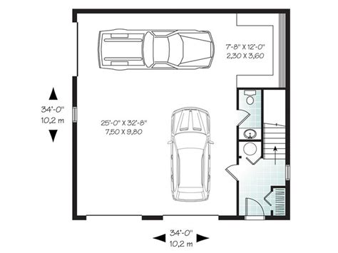 Garage Workshop Building Plans