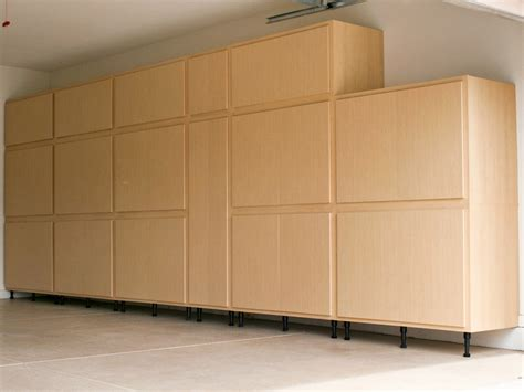 Garage wall cabinets and storage Image