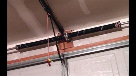 Garage-Door-Torsion-Spring-Replacement-Diy