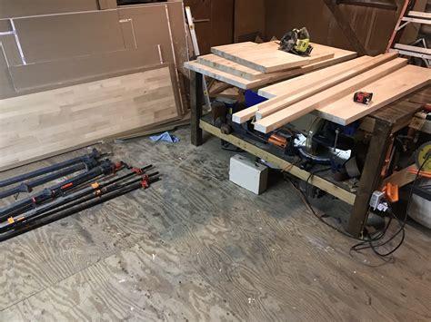 Garage-Floor-Woodworking