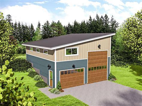Garage-Plans-With-Loft-Or-Storage-Space