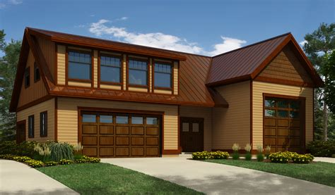 Garage-Plans-With-Shed-Dormers