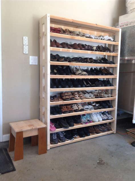 Garage-Shoe-Rack-Plans