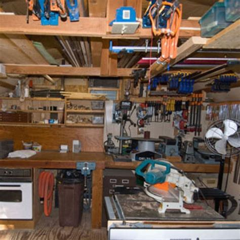 Garage-Woodworking-Shop-Plans