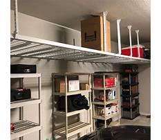 Best Garage ceiling shelving ideas
