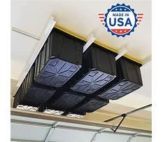 Best Garage overhead storage bins
