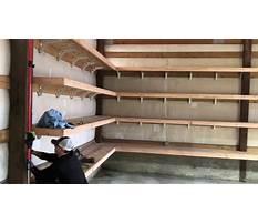Best Garage shelf design wood