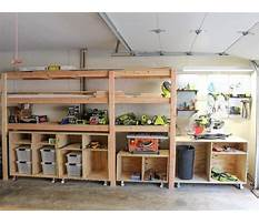 Best Garage wood shelf plans
