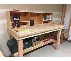 Best Garage workbench designs free
