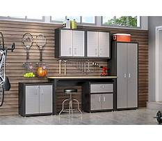 Best Garage workshop cabinets out wood
