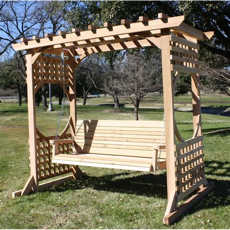 Garden Arbor Porch Swing Stand Plans