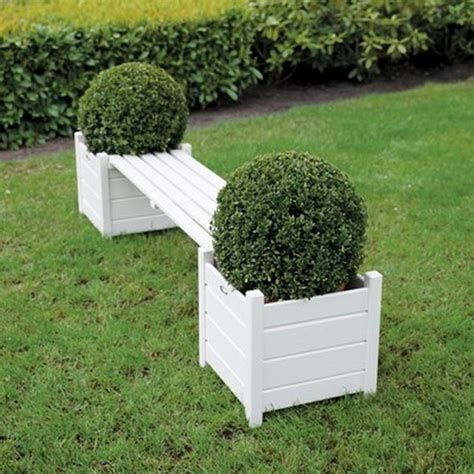Garden Bench Planter Pictures